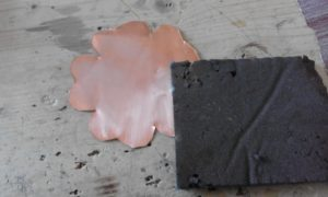 how to clean a copper thin sheet