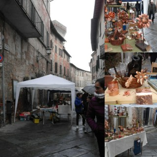 easter monday fair in lucignano