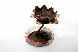 waterlily candleholder